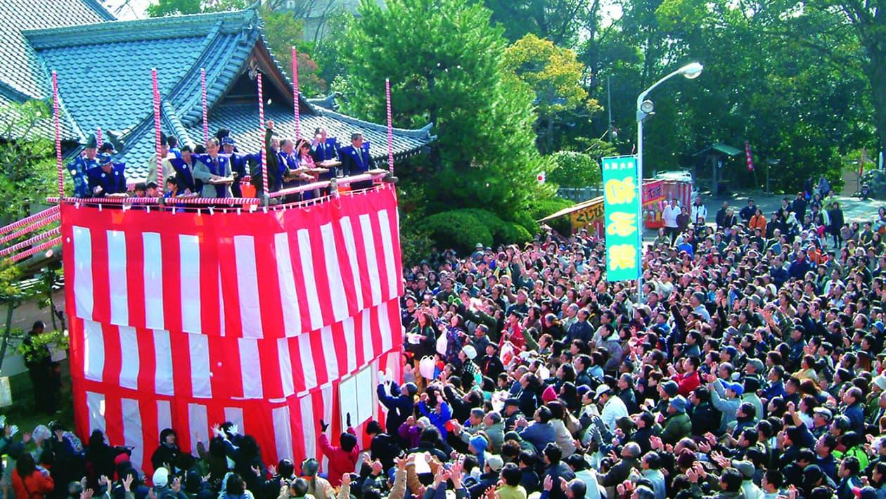 初子祭(松山湯神社)