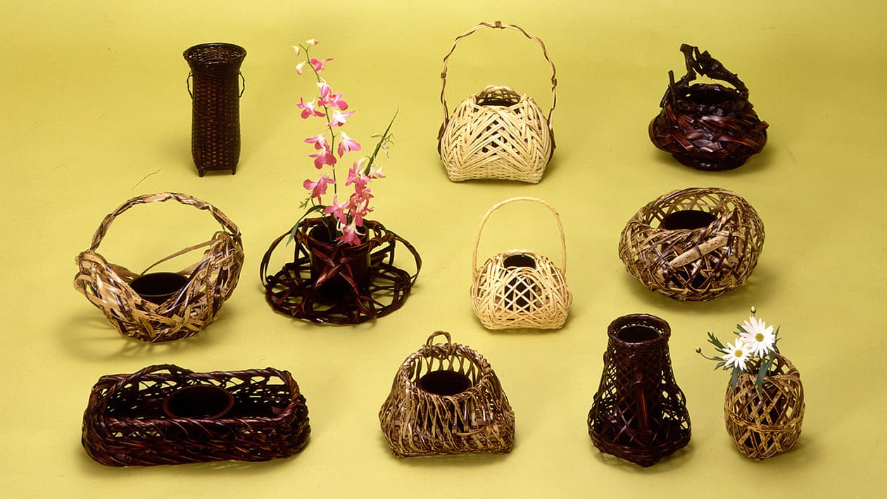 竹工藝、竹製品