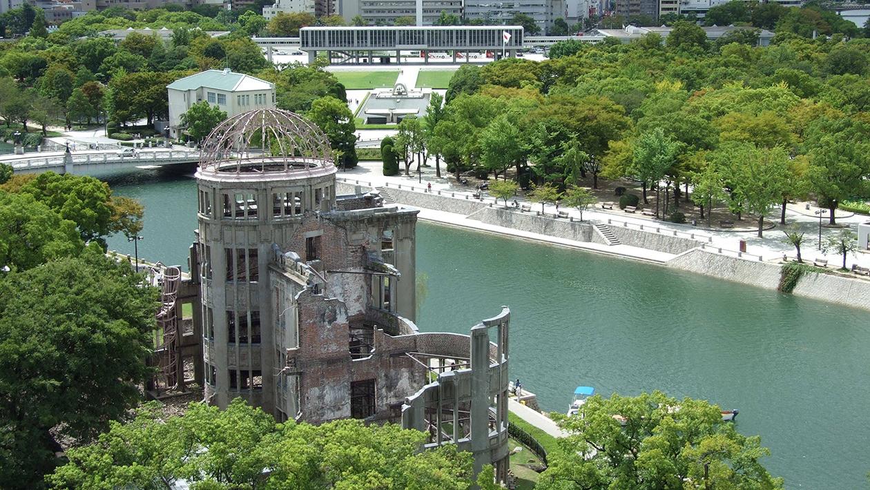 廣島和平紀念公園(廣島原爆遺址、和平紀念資料館)