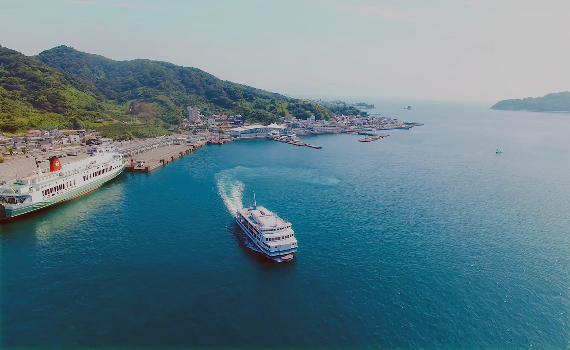 從廣島、香川開始遊覽