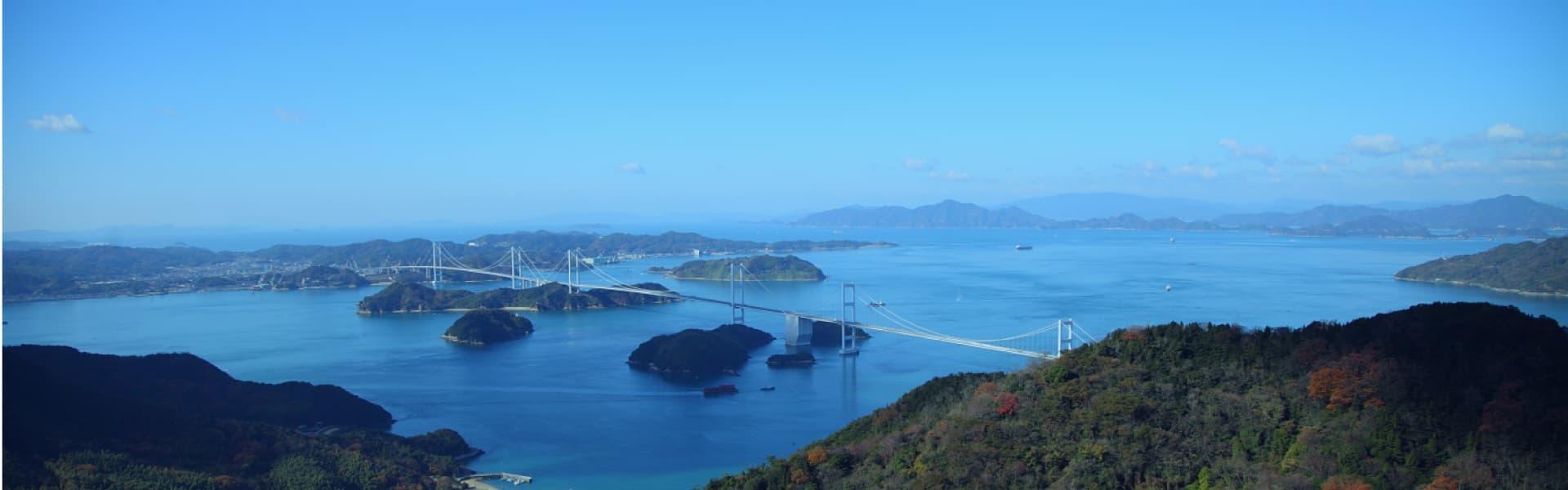 【廣島~松山 瀨戶內・松山周遊路線】番外篇 廣島~松山之旅 盡情遊玩廣島的觀光名所及瀨戶內海的同時,航路公路、 任您選,輕鬆愉快地來觀光松山。